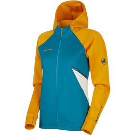 Mammut Avers ML Hooded Jacket Women golden-sapphire